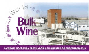 La World Bulk Wine Exhibition abre la puerta a alcoholeras y destilados.