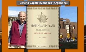 Vinos Extremos de Argentina encabeza Catena Zapata con puntaje 100/100.