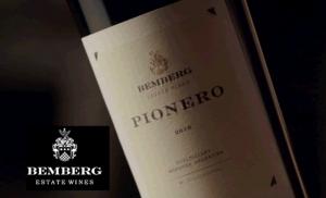 Vino Pionero 2014 98/100 James Suckling, de Familia Bemberg